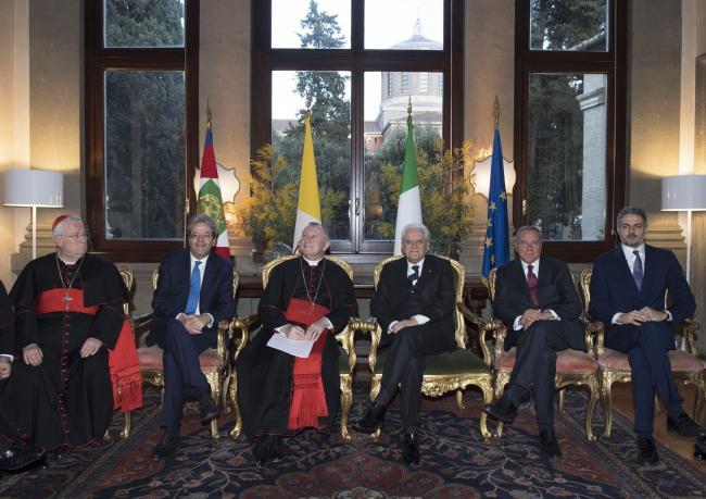 Ricorrenza dei Patti Lateranensi e dell'Accordo di modificazione del Concordato