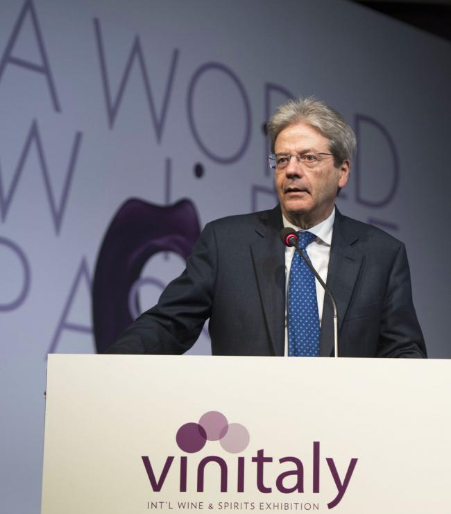 Il Presidente Gentiloni a Vinitaly