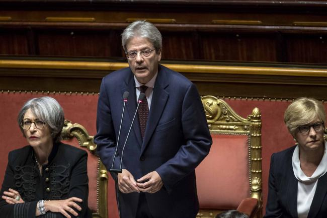 Gentiloni riferisce al Senato