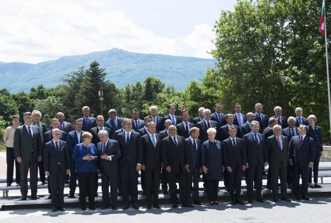 Vertice Ue - Balcani occidentali, la foto di famiglia