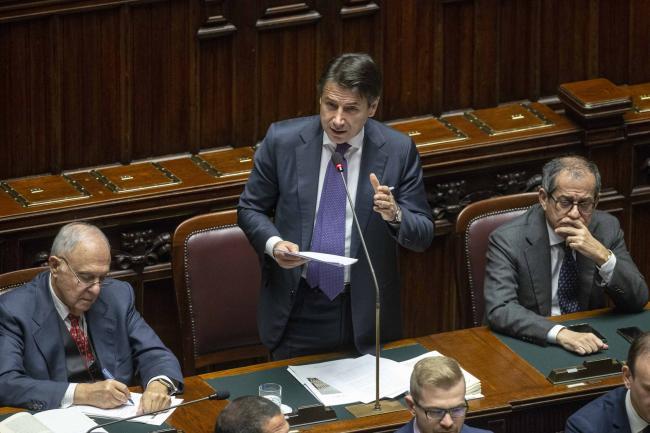 Comunicazioni del Presidente Conte alla Camera dei Deputati