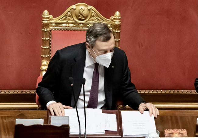 PNRR, le Comunicazioni del Presidente Draghi in Senato