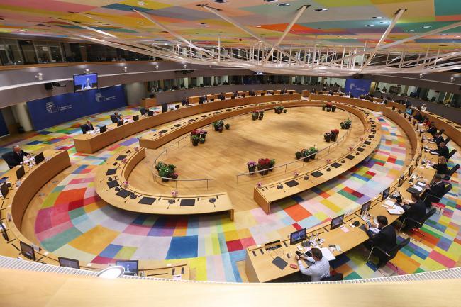 Draghi partecipa alla prima giornata dei lavori del Consiglio europeo