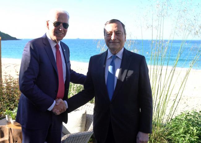 Incontro bilaterale con il Presidente degli Stati Uniti d'America
