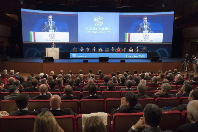 Il Vice Presidente Di Maio all'Assemblea Generale di Confindustria