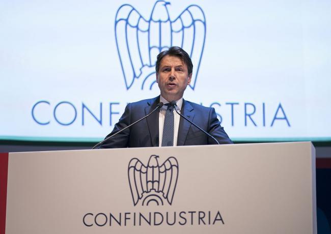 Il Presidente Conte all'Assemblea Generale di Confindustria
