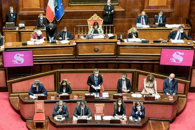 Consiglio europeo, le Comunicazioni del Presidente Draghi in Parlamento