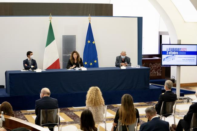 """Conferenza stampa di presentazione della Giornata Nazionale per l'Abbattimento delle Barriere Architettoniche """"FIABADAY"""" 2021"""