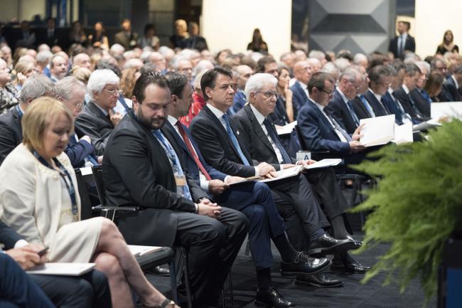 Il Presidente Conte all'Assemblea dell'ABI