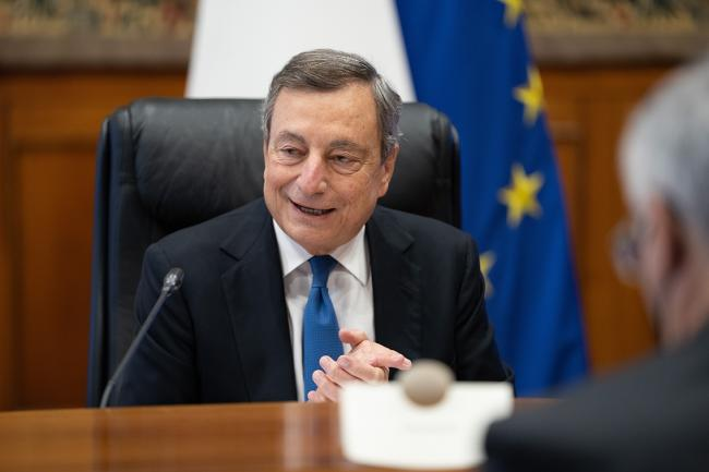 PM Draghi chairs first NRRP steering committee meeting