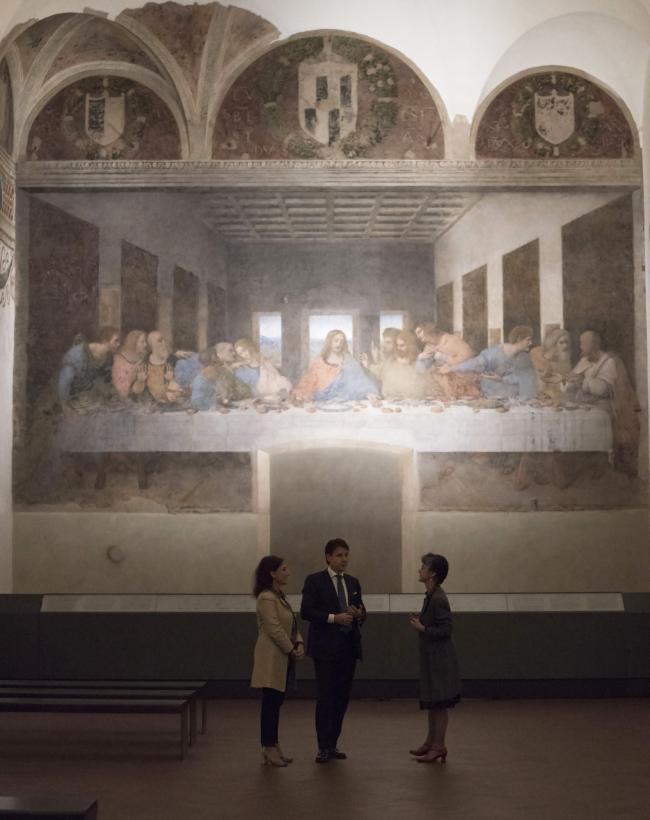 Visita privata del Cenacolo Vinciano