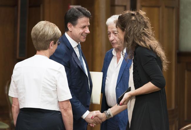 Il Presidente Conte incontra i sindacati a Palazzo Chigi