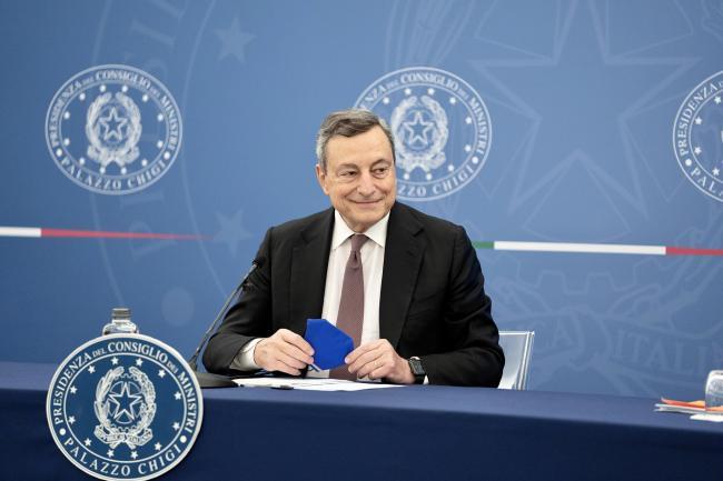 Conferenza stampa Draghi - Cartabia - Speranza