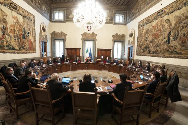 Consiglio dei Ministri n. 1