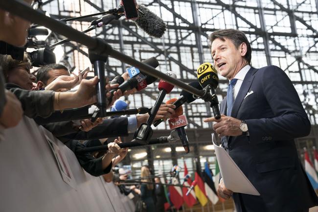 Il Presidente Conte a Bruxelles