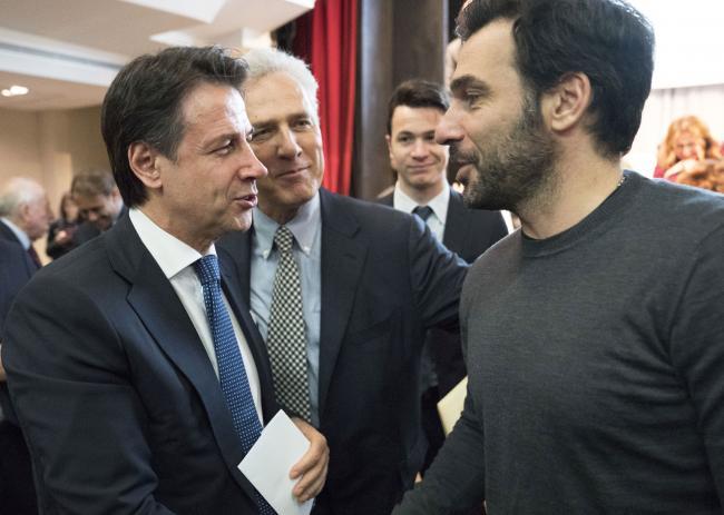 """Il Presidente Conte alla presentazione del rapporto """"Cinema e audiovisivo: l'impatto per l'occupazione e la crescita in Italia"""""""