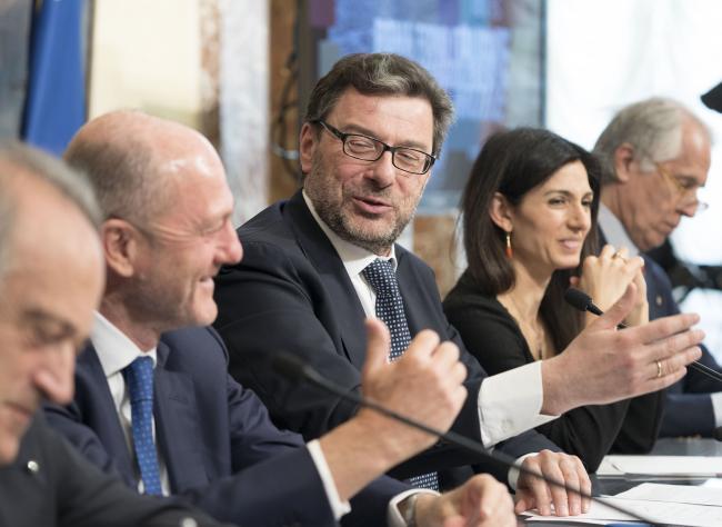 Tennis, la presentazione degli Internazionali BNL d'Italia