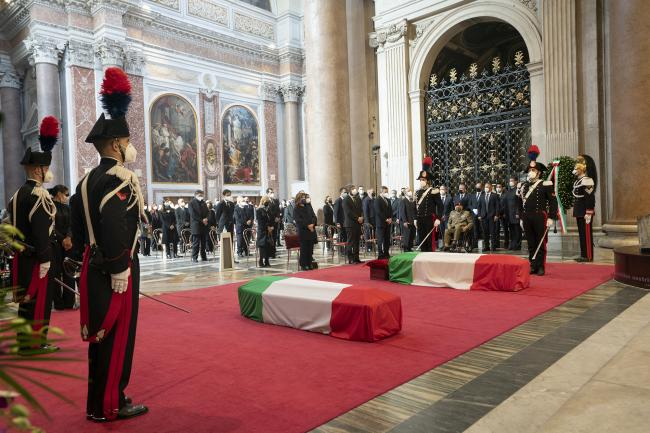 Goma attack, PM Draghi attends State funeral for Italian victims