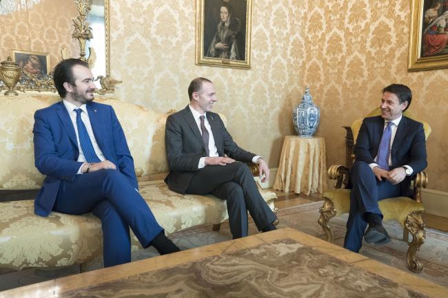Il Presidente Conte incontra i capigruppo della maggioranza