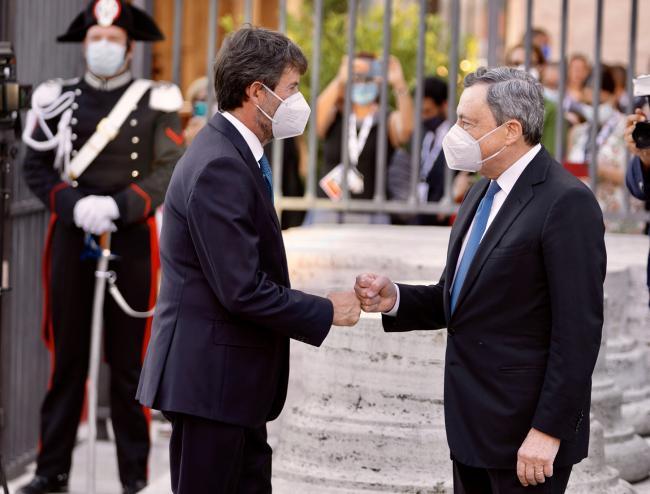 Il Presidente Draghi al G20 Cultura