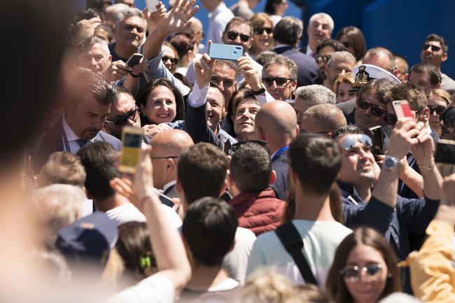 Il Presidente Conte alle celebrazioni per la Festa della Repubblica