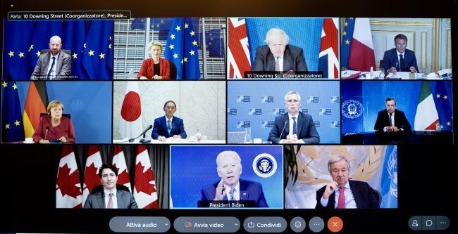 Afghanistan, il Presidente Draghi partecipa al G7 del 24 agosto