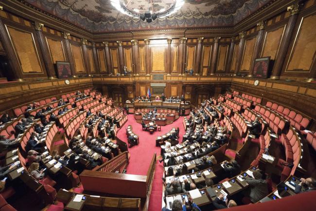 Il Presidente Conte al Senato