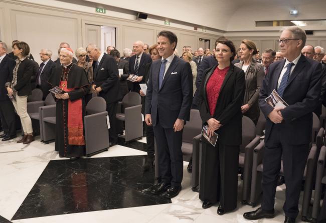 Il Presidente Conte alla Corte Costituzionale