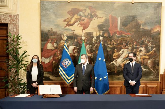 Cerimonia di giuramento dei Sottosegretari di Stato