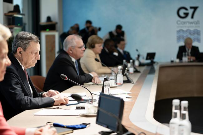 Il Presidente Draghi partecipa al Vertice G7