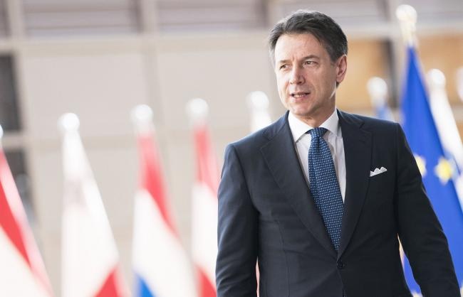 Il Presidente Conte all'Euro Summit
