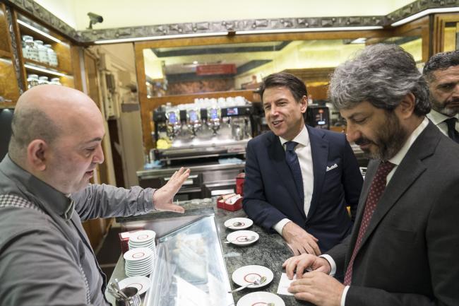 Il Presidente Conte incontra i sindaci a Montecitorio