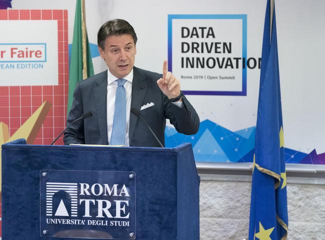 """Conte alla conferenza """"Data Driven Innovation"""""""