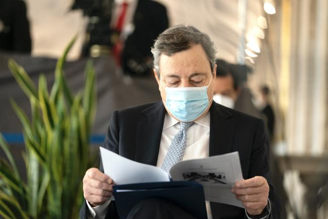 Draghi alla Riunione straordinaria della Corte Costituzionale