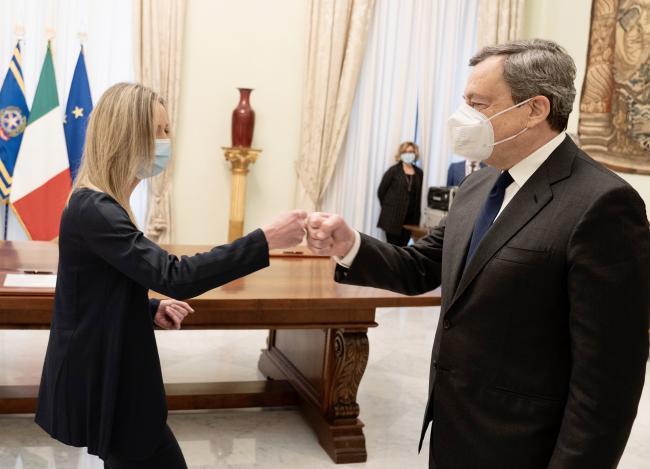 Cerimonia di giuramento del Sottosegretario allo Sport Valentina Vezzali