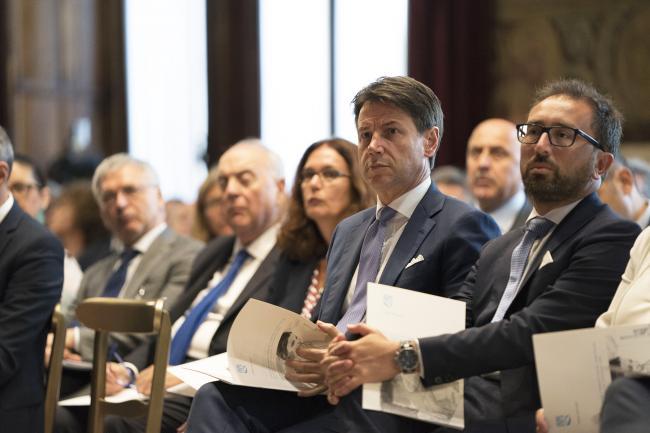 Il Presidente Conte alla presentazione del Rapporto annuale dell'INPS