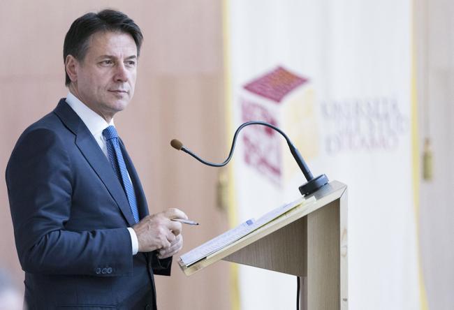 Il Presidente Conte al Secondo Forum Internazionale del Gran Sasso