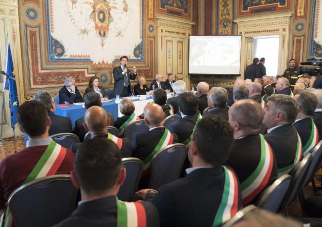 CIS Molise, il Presidente Conte all'incontro con le Istituzioni locali in Prefettura