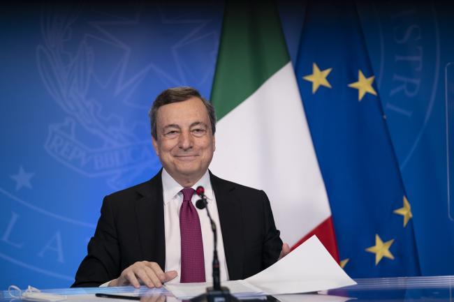 Il Presidente Draghi partecipa al Global Solutions Summit