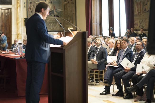 Presentazione del Rapporto annuale dell'INPS