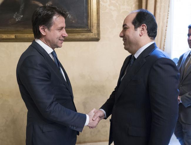 Conte incontra il Vice Presidente del Governo di Riconciliazione Nazionale libico