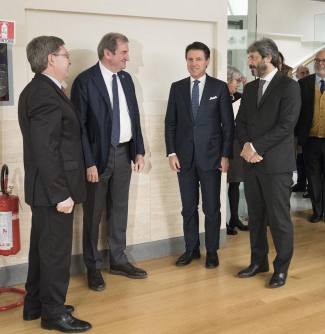 Il Presidente Conte all'incontro dell'ASVIS