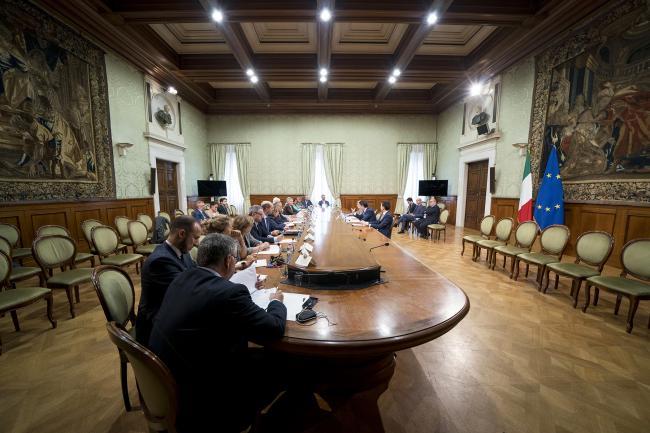 """Insediamento della Cabina di regia """"Benessere Italia"""""""