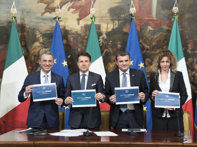 """Presentazione del Piano nazionale per la sicurezza del territorio """"ProteggItalia"""""""