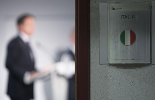 Conferenza stampa del Presidente Conte al termine del Consiglio europeo