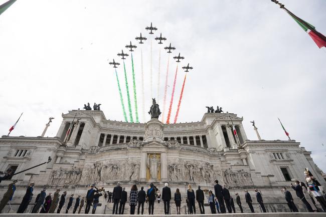 2 giugno, il Presidente Draghi alle celebrazioni per la Festa della Repubblica