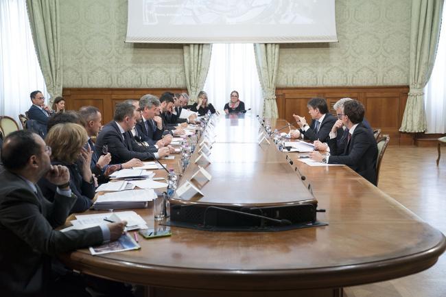 Riunione del Tavolo istituzionale per il Cis per l'area di Foggia