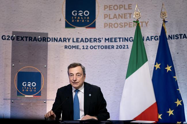 G20 extraordinary leaders' meeting on Afghanistan