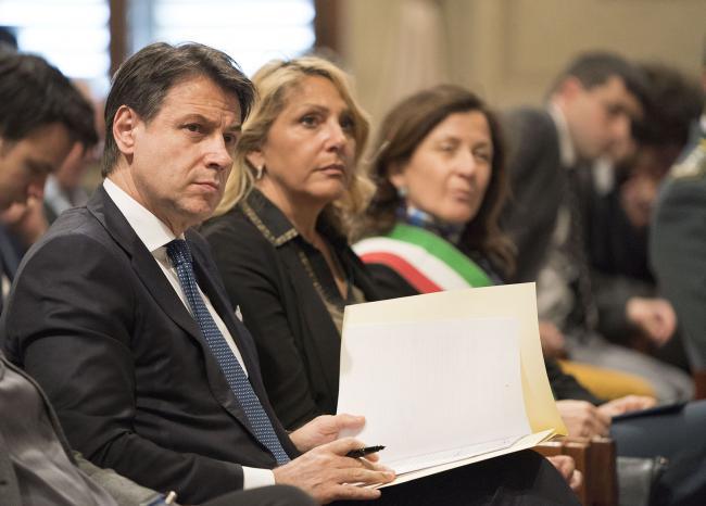Conte alla presentazione degli scritti di Giorgio La Pira