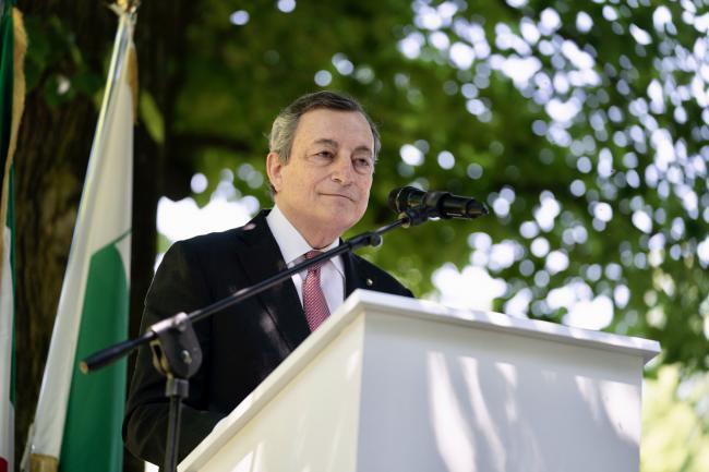 Draghi in Emilia Romagna